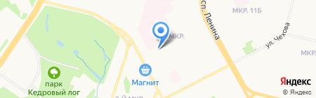 Клинико-диагностическая лаборатория на карте Сургута