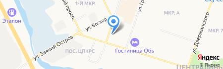 Интерьер на карте Сургута