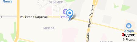Нефть приобья на карте Сургута