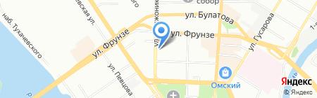 Вестник государственной регистрации на карте Омска