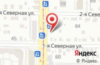Схема проезда до компании Легион-Инвест в Омске