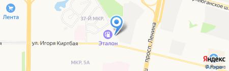 АРС на карте Сургута