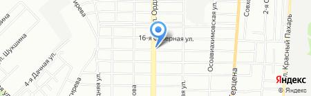 Компания КВК на карте Омска