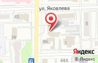 Схема проезда до компании Эфес в Омске