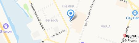 Подворье на карте Сургута