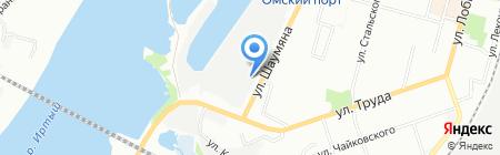Стройинвест-Регион на карте Омска