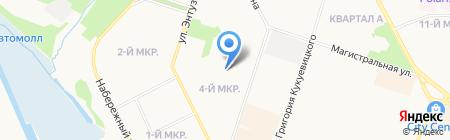 Сургутэнергосбыт на карте Сургута