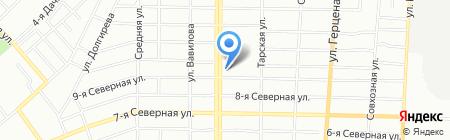 ЖБИ-Маркет на карте Омска