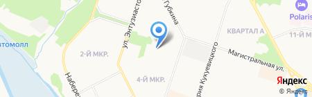 Детский сад №6 на карте Сургута