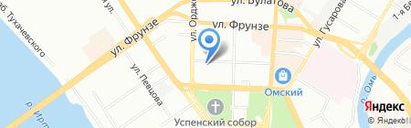 Кадастровый инженер Ярмошик В.Н. на карте Омска