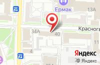 Схема проезда до компании Геон в Омске