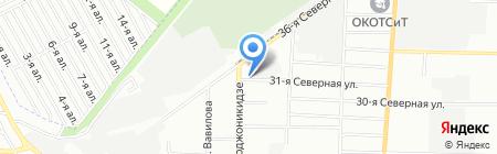 УЧЕТЭНЕРГО на карте Омска