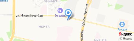 Сургутремстрой на карте Сургута
