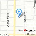 АСМ-Мебель на карте Омска