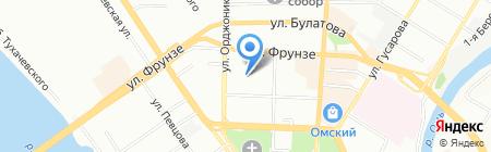 Джой-Тур на карте Омска