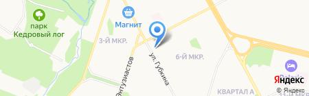 Управление по материально-техническому обеспечению производства на карте Сургута