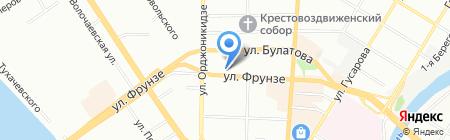 6 континент на карте Омска
