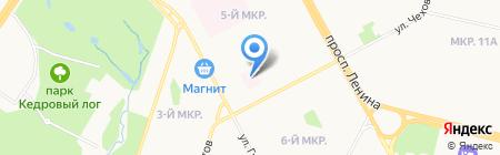Сургутский клинический перинатальный центр на карте Сургута