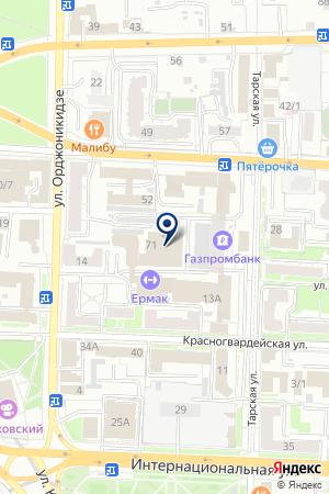 ПРОИЗВОДСТВЕННАЯ ФИРМА КАРБОПЛАСТ на карте Омска