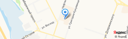 Наша Копейка на карте Сургута