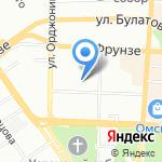 Купе-Просто на карте Омска