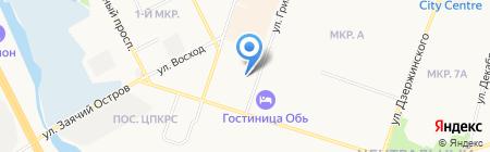 Отделение полиции №1 на карте Сургута