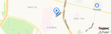 Магазин №10 на карте Сургута