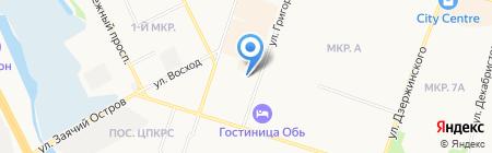 Мир звука на карте Сургута