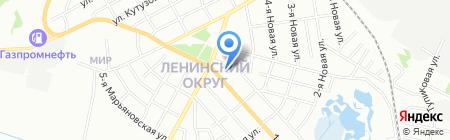 Аккумуляторный рай на карте Омска
