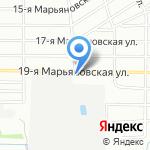 Магазин горячего питания на карте Омска