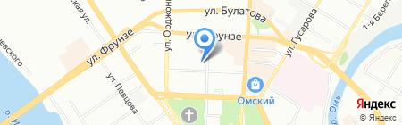 Омск без наркотиков на карте Омска
