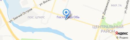Церковь Христа Спасителя Евангельских Христиан Баптистов г. Сургута на карте Сургута