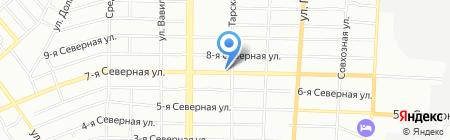 Автомасла на карте Омска