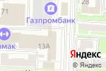 Схема проезда до компании Строй-Плюс в Омске