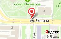 Схема проезда до компании А.Б.В. в Омске