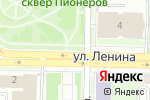 Схема проезда до компании КИРПИЧ в Омске