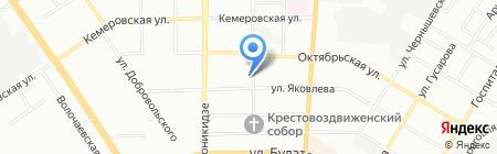 Катрин на карте Омска