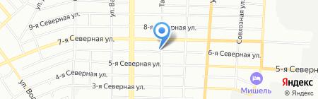Строительные решения на карте Омска