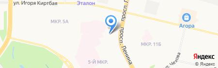 Лего-клуб на карте Сургута