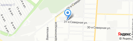 Сибпромтехцентр на карте Омска