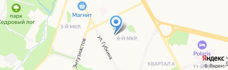 Общественная приемная депутата Думы г. Сургута Бруслиновского И.П. на карте Сургута