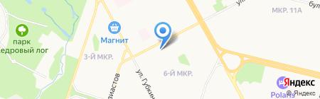 СургутНИПИнефть на карте Сургута