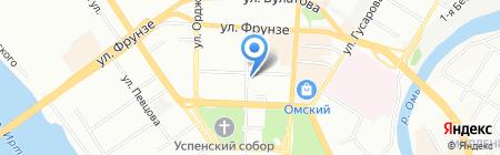 Алекс-СтройПроект на карте Омска