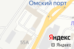 Схема проезда до компании HQ в Омске