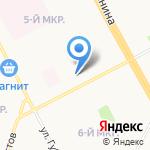 КНИГАБУК на карте Сургута