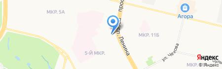 Боевое братство на карте Сургута
