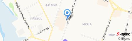 Мирок на карте Сургута