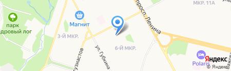СургутАСУнефть на карте Сургута