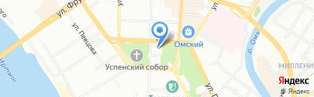 Классика-Тур на карте Омска