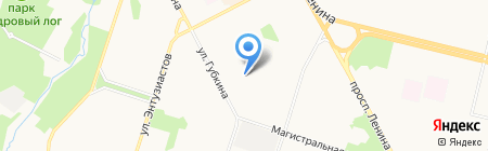 Детский сад №7 Буровичок на карте Сургута